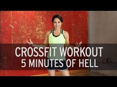 ▶ Crossfit Workout: 5 Minutes of Hell - YouTube