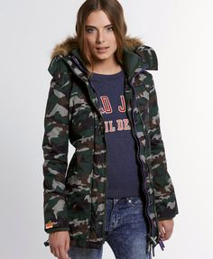 Superdry Polar Wind Parka - Womens Sale - View All