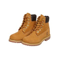f37b3d14 Timberland Boots 6 Premium Marron ($230) ❤ liked on Polyvore featuring shoes,  boots