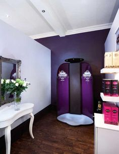 Image result for spray tan rooms