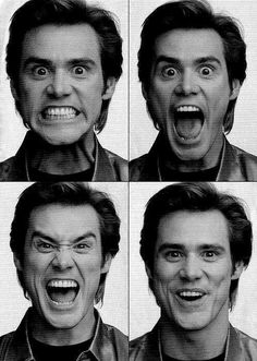 Jim Carrey. Haha i love his facial expressions!