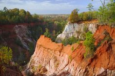 Providence Canyon State Park – Georgia | 21 Magical Places In The South You Won't Believe Actually Exist