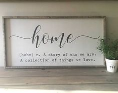 Custom sized home sign, Fall Sign Autumn Sign Thanksgiving Sigh, fall, DIY decor, home decor, Rustic Sign, Home Decor, Farmhouse Decor, Farmhouse Signs, Rustic Signs, Fixer Upper Signs, Fixer Upper Decor, rustic, sign farmhouse, modern country, flowers, vase, DIY sign, pallet, shelf, living room, bathroom, farmhouse decor, lantern, shelf, diy decor, home decor, homemade gifts, presents. dining room, kitchen, homemade, DIY gift, family room #afflink