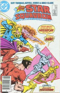 Cover for All-Star Squadron (DC, 1981 series) #58