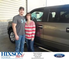 Congratulations David and Rachel on your #Ford #F-150 from Scott Turner at Hixson Ford of Monroe!  https://deliverymaxx.com/DealerReviews.aspx?DealerCode=M553  #HixsonFordofMonroe