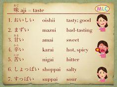 "MLC (@japanese_language_mlc) on Instagram: ""Taste: Example sentences"""