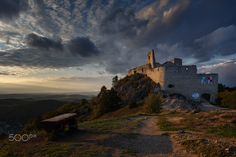 """Sunset at Bathory castle - Waiting for sunset in july at one of my favorites castle....  Follow me on <a href=""""https://www.facebook.com/lubosbalazovic.sk"""">FACEBOOK</a> or <a href=""""https://www.instagram.com/balazovic.lubos"""">INSTAGRAM</a>"""
