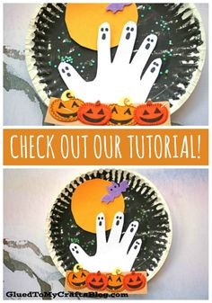 Halloween Arts And Crafts, Halloween Crafts For Toddlers, Halloween Crafts For Kids, Toddler Crafts, Halloween Halloween, Halloween Snacks, Kids Crafts, Kindergarten Crafts, Daycare Crafts