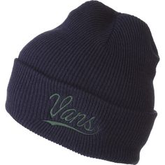 Vans Third Base Beanie ($8.78) ❤ liked on Polyvore featuring accessories, hats, acrylic beanie hat, acrylic beanie, acrylic hat, vans hat and beanie hats
