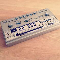 My beloved Roland TB-303 Bass Line.