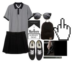 """Untitled #486"" by aysiaismej ❤ liked on Polyvore featuring Monki, O'Neill, Vans and Enza Costa"
