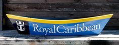 Royal Caribbean pirogue. Time for hot boiled crawfish in the cruise ship buffet line?