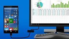 Microsoft crea Continuum, un sistema que convierte el móvil en un ordenador