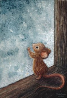 Rats and all of the animals, have dreams too by Minna Turunen.