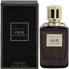 Oud Black Vanilla Absolute by Perry Ellis, oz. Eau De Parfum for Women Perfume Rose, Hermes Perfume, Perfume And Cologne, Perfume Bottles, Men's Cologne, Mens Perfume, Best Fragrance For Men, Best Fragrances, Lotions