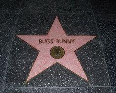 Bugs Bunny Walk of Fame - Bugs Bunny - Wikipedia, la enciclopedia libre Hollywood Star Walk, Hollywood Boulevard, Bugs Bunny, Bunnies, Krampus Movie, Tex Avery, Luxury Wedding Decor, Bob Hope, Chuck Berry