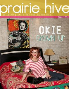 Issue 5 Cover  Spring 2012  Okie GrownUp  #tulsa #dwellingspaces #mayo