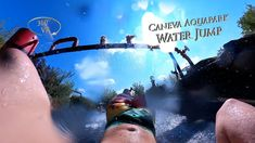 Caneva Aquapark Water Jump (Right) 360° VR POV Onride Vr, Water, Youtube, Gripe Water, Youtubers, Youtube Movies