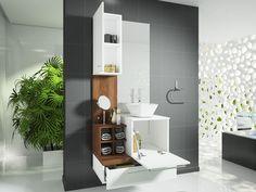Gabinete para Banheiro com Espelho 2 Portas 1 Gaveta - Celta Móveis Ravenna - Armários e Gabinetes para Banheiro - Magazine Luiza