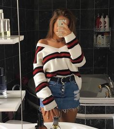 Swag Outfits, Girly Outfits, Casual Summer Outfits, Grunge Outfits, Stylish Outfits, Vintage Outfits, Party Outfit Summer, Flannel Outfits, Fashion Vintage