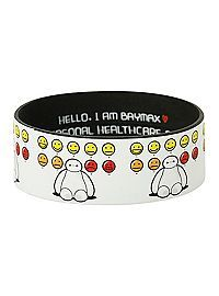 HOTTOPIC.COM - Disney Big Hero 6 Baymax Moods Rubber Bracelet