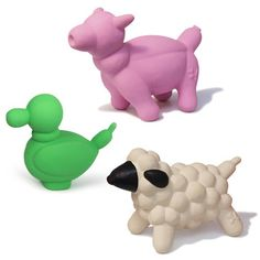 Farm Balloon Dog Toy Set L II, $25, now featured on Fab.