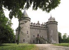 Château de Combourg, France.