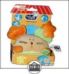 Doudou gato beige naranja verde Bebe Confort  ✿ Regalos para recién nacidos - Bebes ✿ ▬► Ver oferta: http://comprar.io/goto/B01DY9GRYG