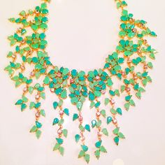 We are ready for spring !! The perfect spring statement necklace by BCBG #spring #mintobsession #fashion #kkbloomstyle #love #statementnecklace
