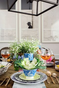 A spring-filled table