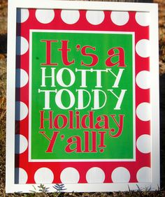 Hotty Toddy holiday printable! Click for more Ole Miss printables for Christmas, Hanukkah and Kwanzaa.