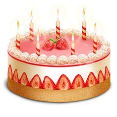 Pink Birthday Cake Clip Art   ... six birthday candle isolated birthday cake clipart birthday party