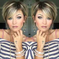 35 Short Bob Hairstyles 2019 for Women - Hairstyles Trends Trending Hairstyles, Short Bob Hairstyles, Cool Hairstyles, Layered Hairstyles, Pixie Haircuts, Teenage Hairstyles, Hairstyles Videos, Bandana Hairstyles, Everyday Hairstyles