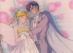 Neo-Queen Serenity and Neo-King Endymion