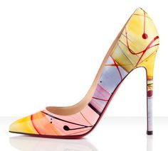 Christian Louboutin - Pop Art Pumps in Multi Colored Pastels. Cute ! ♥