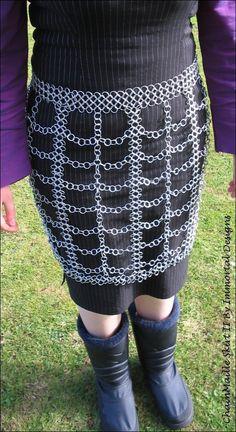 Chain Maille Skirt II by ~immortaldesigns on deviantART