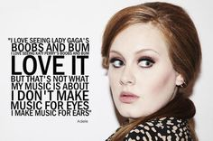 Adele Music Quote
