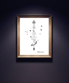 Earth Sign Arrows - Capricorn, Taurus, Virgo - product image