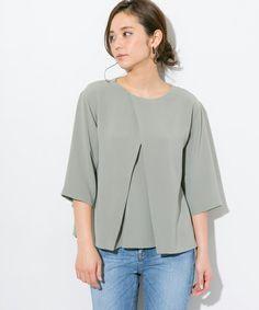 【ZOZOTOWN|送料無料】STUDIOUS(ステュディオス)のシャツ/ブラウス「STUDIOUS フロントクロスタックブラウス【先行予約】」(206104002)を購入できます。