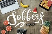 Sobbers Typeface + Swashes ~ Display Fonts on Creative Market
