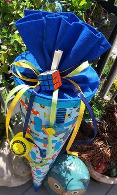Schultüten - Flugzeuge ✈ - Schultüte/ Zuckertüte - ein Designerstück von XBergDesign2 bei DaWanda