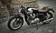 Triumph Cafe Racer, if you know what orgasm means