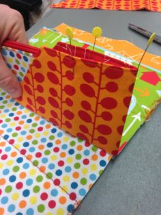 THE QUILT BARN: My Sew Along Bag DAY 3