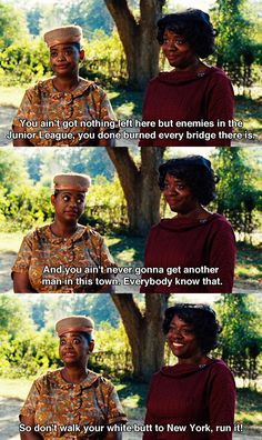 You ain't got nothing left here.~ The Help ~ Movie Quotes Funny Movies, Good Movies, Awesome Movies, Love Movie, Movie Tv, Movies Showing, Movies And Tv Shows, Tv Show Quotes, The Help Movie Quotes