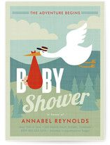 Adventurer Baby Shower Invitations, or variation could also be used as announcements :)