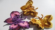 SEE STEP BY STEP HOW TO DO BUTTERFLY CROCHET- DESIGN PATTERNS ~ DESIGN PATTERNS FX