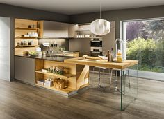 cucina linee in rovere team7.at
