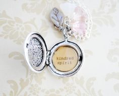 Anne of Green Gables Women's Locket Kindred by busybeezchickadeez