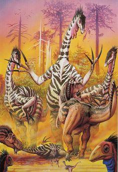 Therizinosaurus (Luis Rey)