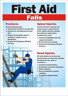 First aid for falls